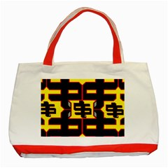 Give Me The Money Classic Tote Bag (red)