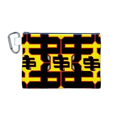 Give Me The Money Canvas Cosmetic Bag (m)