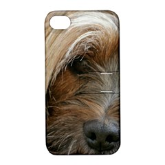 Tibetan Terrier 3 Apple Iphone 4/4s Hardshell Case With Stand