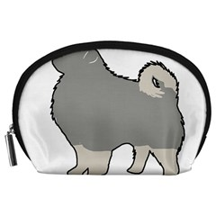 Keeshond Color Silo Accessory Pouches (large)
