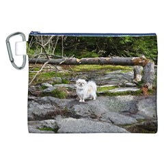Pekingese Full Canvas Cosmetic Bag (xxl)