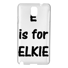 E Is For Elkie Samsung Galaxy Note 3 N9005 Hardshell Case