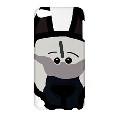 Elkie Dog Head Apple Ipod Touch 5 Hardshell Case