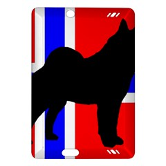 Elkie Silo On Norway Flag Amazon Kindle Fire Hd (2013) Hardshell Case