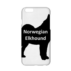 Norwegian Elkhound  Name Silo Black Apple Iphone 6/6s Hardshell Case