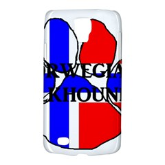 Norwegian Elkhound Name Norway Flag Paw Galaxy S4 Active