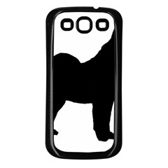 Norwegian Elkhound Silo Black Samsung Galaxy S3 Back Case (black)