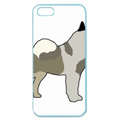 Norwegian Elkhound Silo Color Apple Seamless Iphone 5 Case (color)