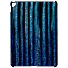 Stylish Abstract Blue Strips Apple Ipad Pro 12 9   Hardshell Case
