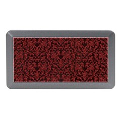 Red Glitter Look Floral Memory Card Reader (mini)