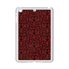 Red Glitter Look Floral Ipad Mini 2 Enamel Coated Cases
