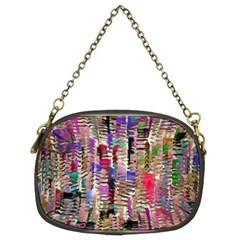 Colorful Shaky Paint Strokes                         Chain Purse (two Sides)