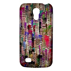 Colorful Shaky Paint Strokes                        Samsung Galaxy S4 I9500/i9505 Woven Pattern Leather Folio Case