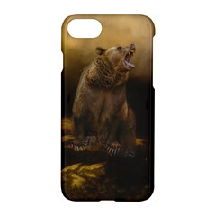 Roaring Grizzly Bear Apple Iphone 7 Hardshell Case