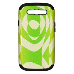 Green Shapes Canvas                        Apple Iphone 5 Classic Hardshell Case