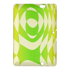 Green Shapes Canvas                        Kindle Fire Hdx Hardshell Case