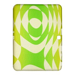 Green Shapes Canvas                        Samsung Galaxy Tab 4 (10 1 ) Hardshell Case