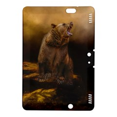 Roaring Grizzly Bear Kindle Fire Hdx 8 9  Hardshell Case