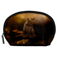 Roaring Grizzly Bear Accessory Pouches (large)