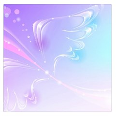 Wings Drawing Soft Background  Large Satin Scarf (square)