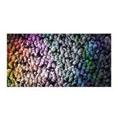 Surface Light Texture Rainbow  Satin Wrap