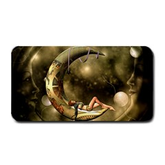 Steampunk Lady  In The Night With Moons Medium Bar Mats