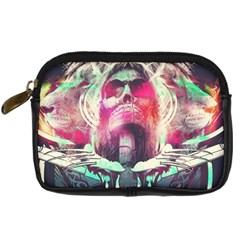 Skull Shape Light Paint Bright 61863 3840x2400 Digital Camera Cases