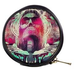 Skull Shape Light Paint Bright 61863 3840x2400 Mini Makeup Bags