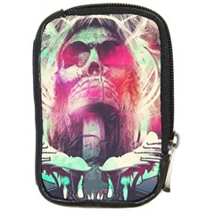 Skull Shape Light Paint Bright 61863 3840x2400 Compact Camera Cases