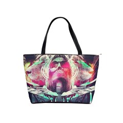 Skull Shape Light Paint Bright 61863 3840x2400 Shoulder Handbags