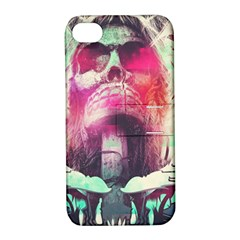 Skull Shape Light Paint Bright 61863 3840x2400 Apple Iphone 4/4s Hardshell Case With Stand