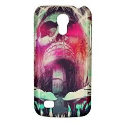 Skull Shape Light Paint Bright 61863 3840x2400 Galaxy S4 Mini