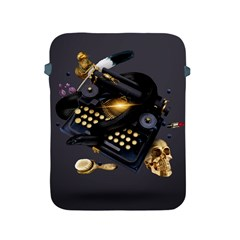 Typewriter Skull Witch Snake  Apple Ipad 2/3/4 Protective Soft Cases