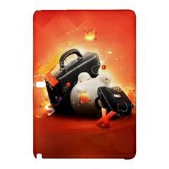 Suitcase Orange Red Black White  Samsung Galaxy Tab Pro 12 2 Hardshell Case