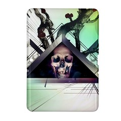 Skull Triangle Wood  Samsung Galaxy Tab 2 (10 1 ) P5100 Hardshell Case
