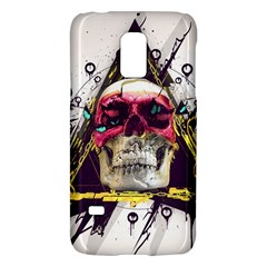 Skull Paint Butterfly Triangle  Galaxy S5 Mini