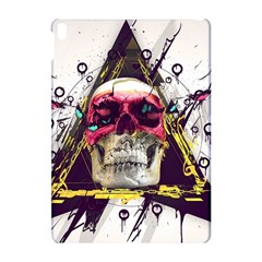Skull Paint Butterfly Triangle  Apple Ipad Pro 10 5   Hardshell Case