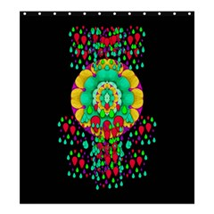 Rain Meets Sun In Soul And Mind Shower Curtain 66  X 72  (large)