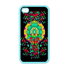 Rain Meets Sun In Soul And Mind Apple Iphone 4 Case (color)