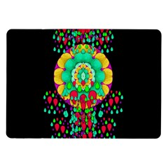 Rain Meets Sun In Soul And Mind Samsung Galaxy Tab 10 1  P7500 Flip Case