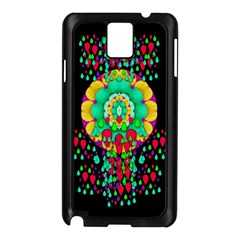 Rain Meets Sun In Soul And Mind Samsung Galaxy Note 3 N9005 Case (black)