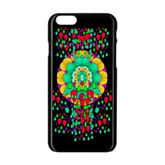 Rain Meets Sun In Soul And Mind Apple Iphone 6/6s Black Enamel Case