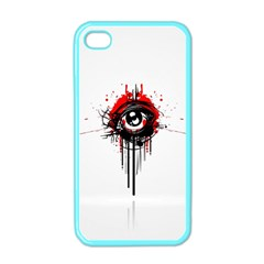 Red White Black Figure  Apple Iphone 4 Case (color)