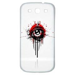 Red White Black Figure  Samsung Galaxy S3 S Iii Classic Hardshell Back Case