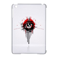 Red White Black Figure  Apple Ipad Mini Hardshell Case (compatible With Smart Cover)