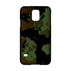 Military Background Texture Surface  Samsung Galaxy S5 Hardshell Case