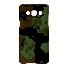 Military Background Texture Surface  Samsung Galaxy A5 Hardshell Case