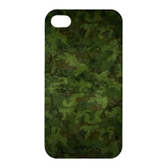 Military Background Spots Texture  Apple Iphone 4/4s Hardshell Case