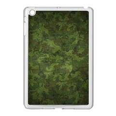 Military Background Spots Texture  Apple Ipad Mini Case (white)