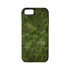 Military Background Spots Texture  Apple Iphone 5 Classic Hardshell Case (pc+silicone)